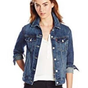 Levi's Medium Wash Denim Jacket